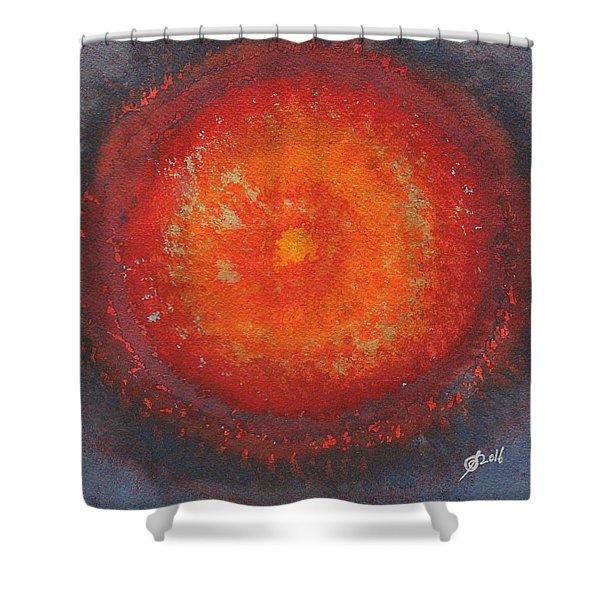 Third Eye Original Painting Shower Curtain