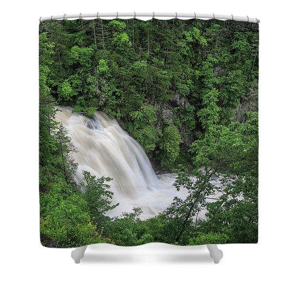 Third Falls Shower Curtain