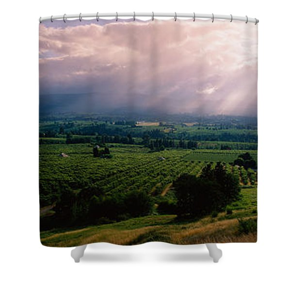 This Is Near The Hood River. It Shower Curtain
