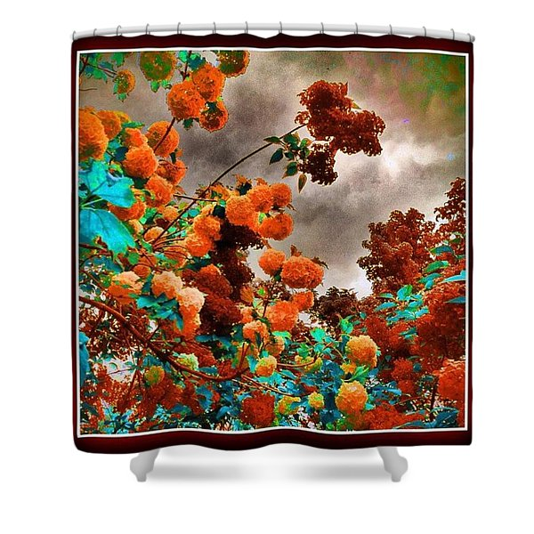 This Is Not The End Shower Curtain