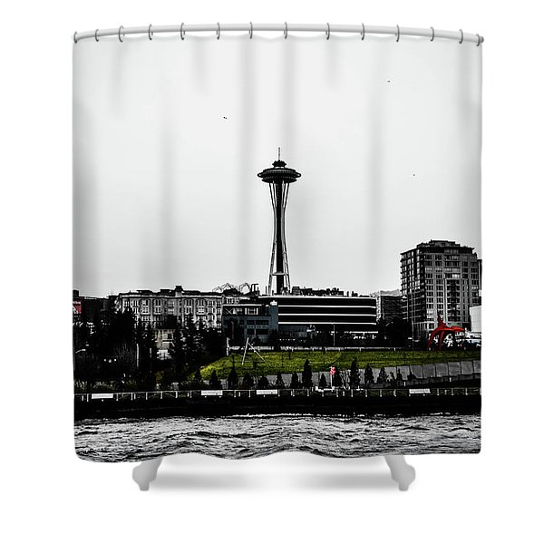 This Is Seattle  Shower Curtain