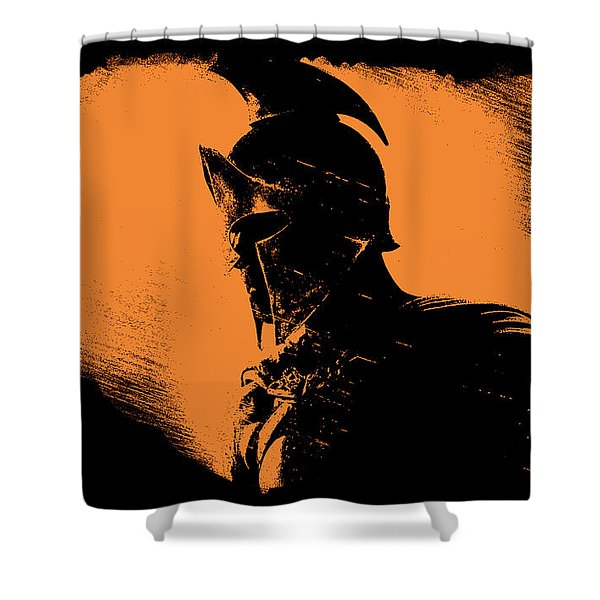 This Is Sparta Shower Curtain