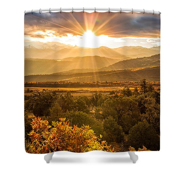This Morning Shower Curtain