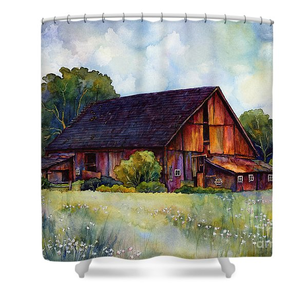 This Old Barn Shower Curtain