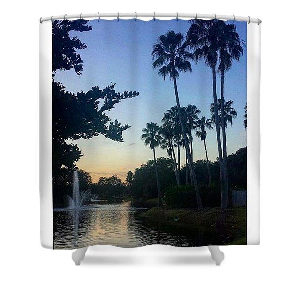 Living In A Tropical Dream Shower Curtain
