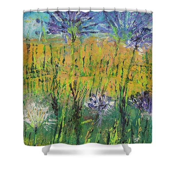 Thistles Too Shower Curtain