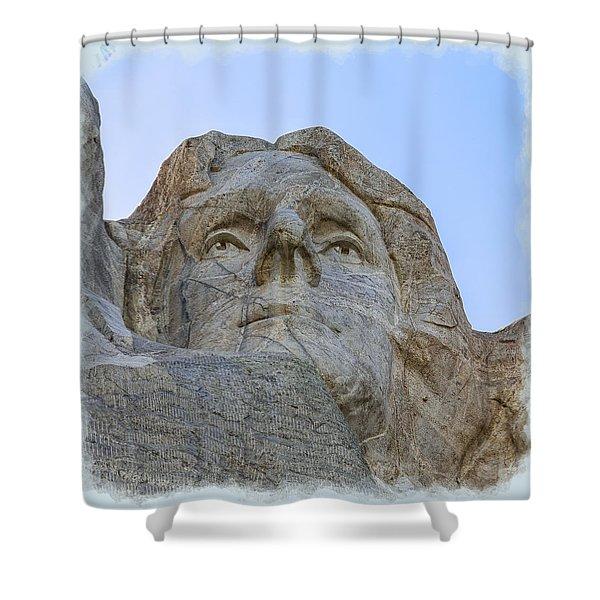 Thomas Jefferson 2 Shower Curtain