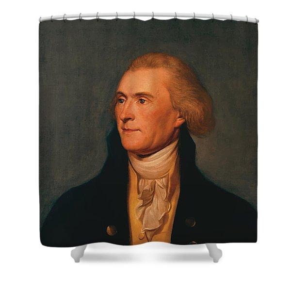 Thomas Jefferson Shower Curtain