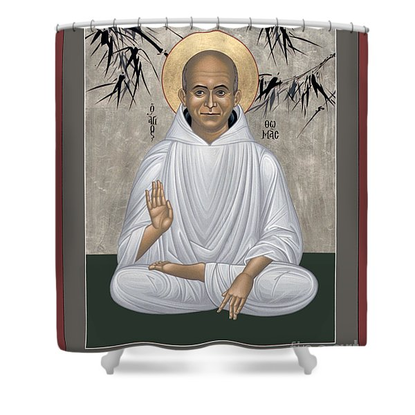 Thomas Merton - Rltmr Shower Curtain