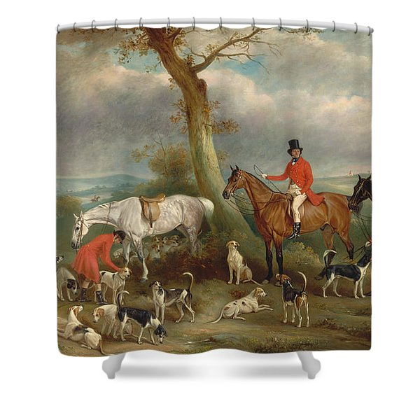 Thomas Wilkinson Shower Curtain
