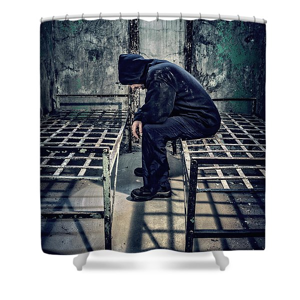Thorns Of Punishment Shower Curtain