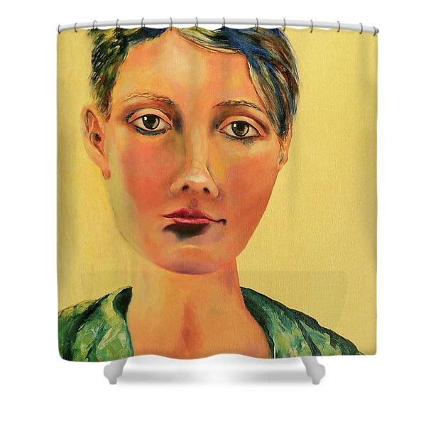 Those Eyes Shower Curtain