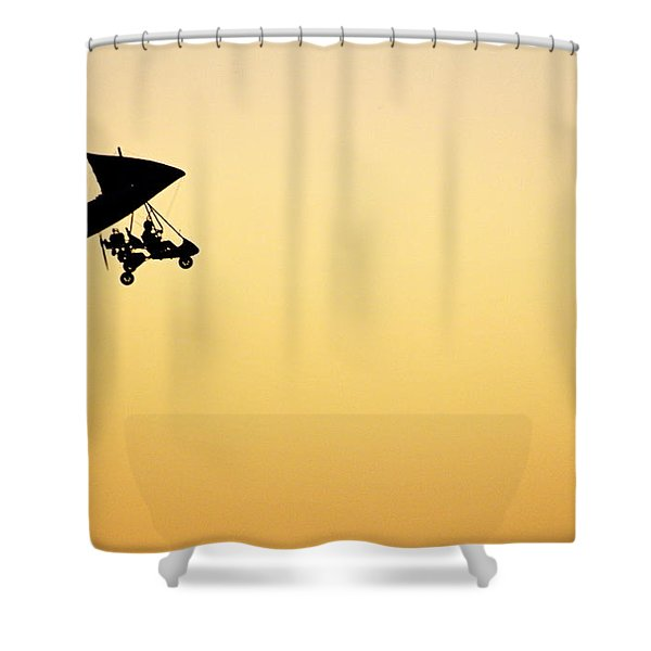 Those Magnificent Men In Their Flying Machines Shower Curtain