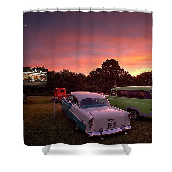 Those Summer Nights Shower Curtain