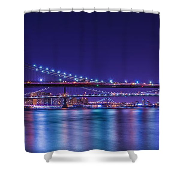 Three Bridges Shower Curtain