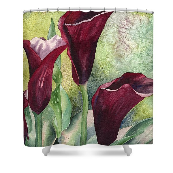 Three Callas Shower Curtain