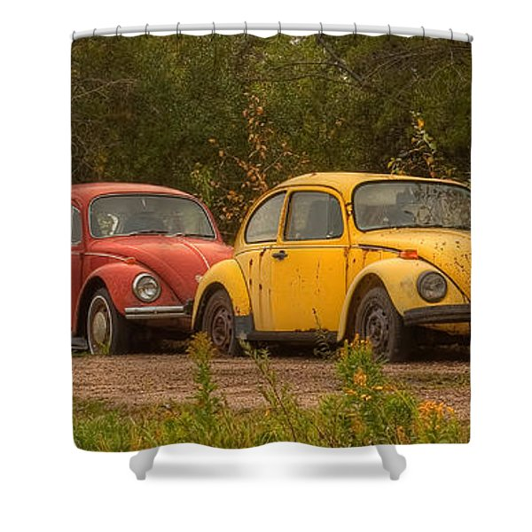 Three For The Road Shower Curtain