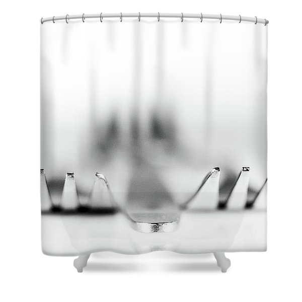 Three Forks Shower Curtain