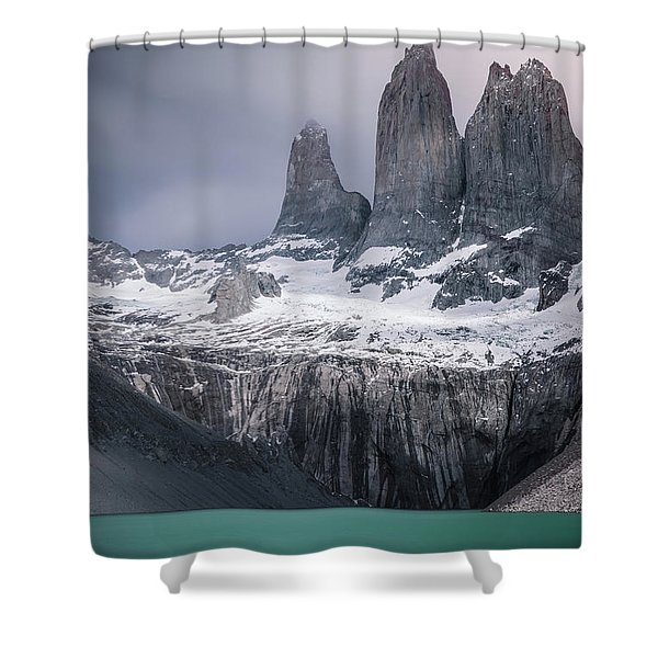 Three Giants Shower Curtain