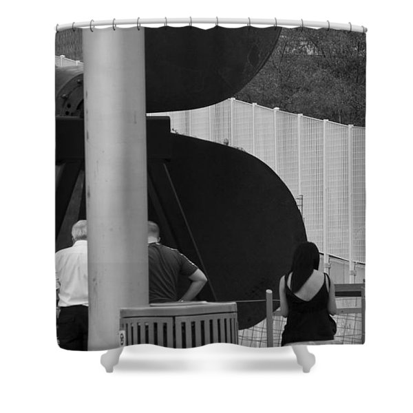 Three Is A Company Shower Curtain