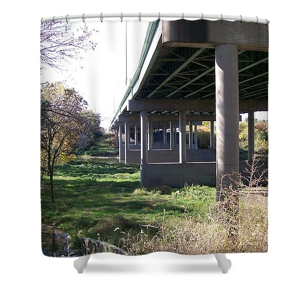 Three Pathways Shower Curtain