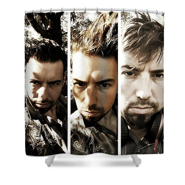 Three Times Two Shower Curtain