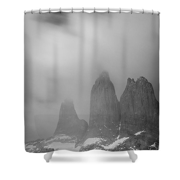 Three Towers Shower Curtain