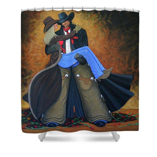Threshold Shower Curtain by Lance Headlee