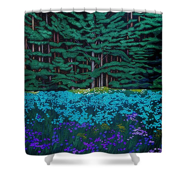 Threshold Of The Woods Shower Curtain