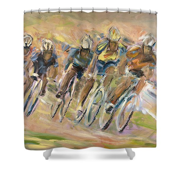 Thrill Of The Chase Shower Curtain