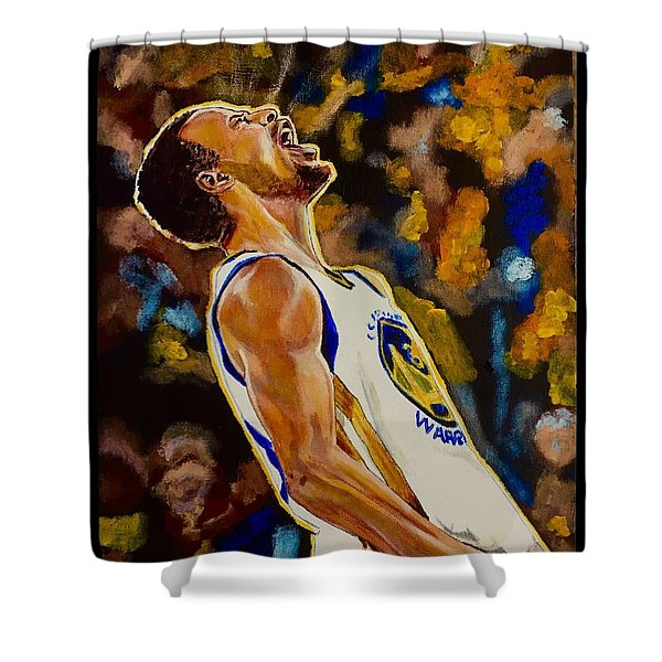 Thrill Of Victory Shower Curtain