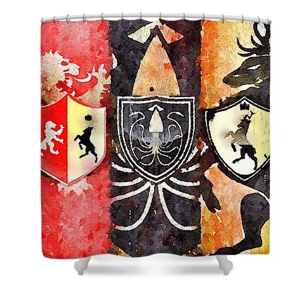 Thrones Shower Curtain