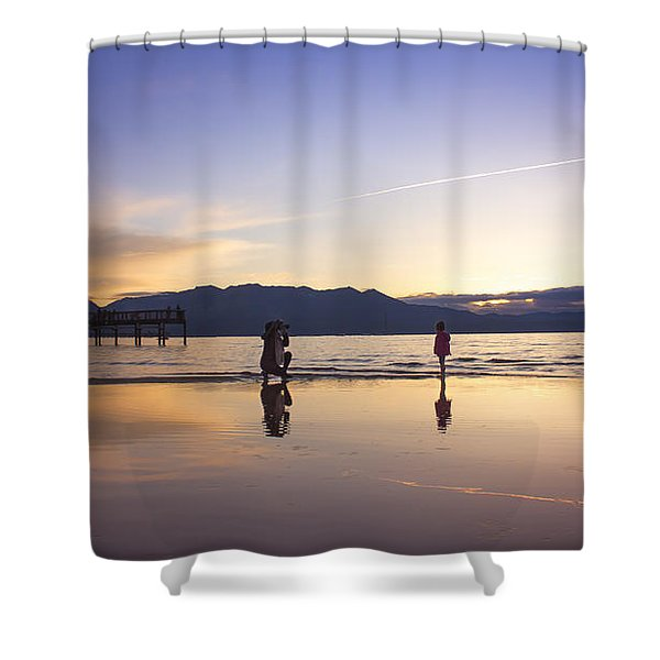 Through The Lens Of A Mother Shower Curtain