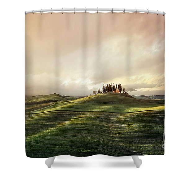 Through The Mists Of Dawn Shower Curtain