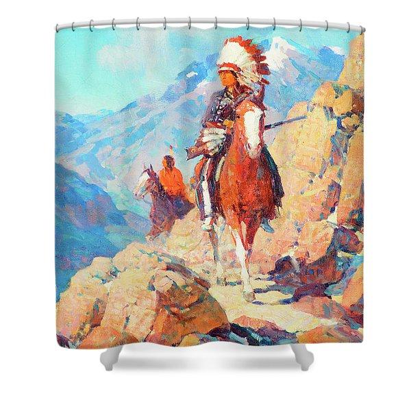 Thunder Bird Shower Curtain