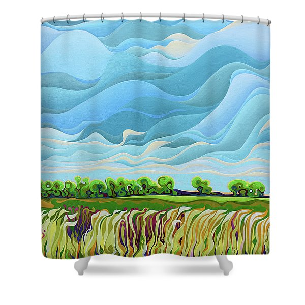 Thunder Sky Shower Curtain