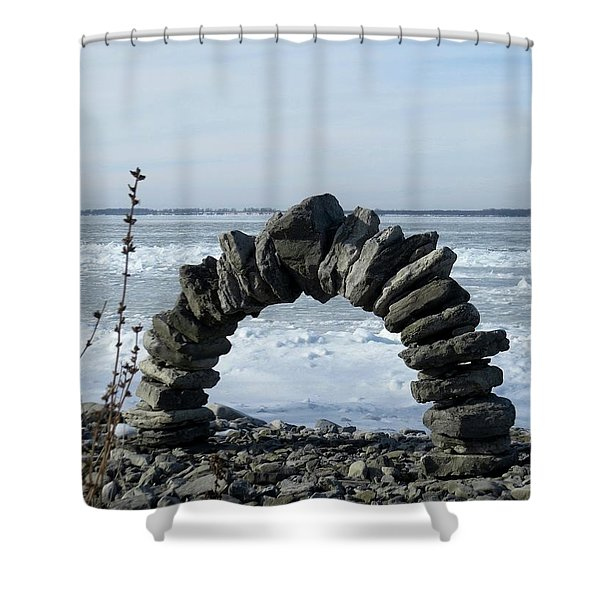 Tibbetts Point Arch Shower Curtain