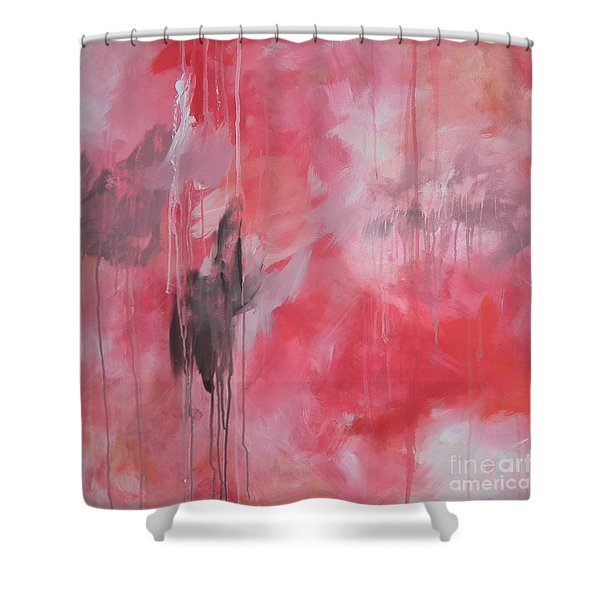 Tickled Pink 1 Shower Curtain