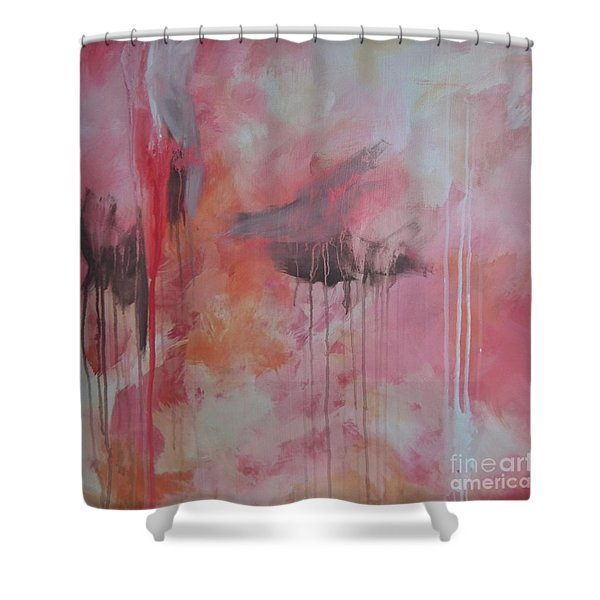 Tickled Pink 3 Shower Curtain