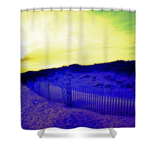 Tie-dye Sky Shower Curtain