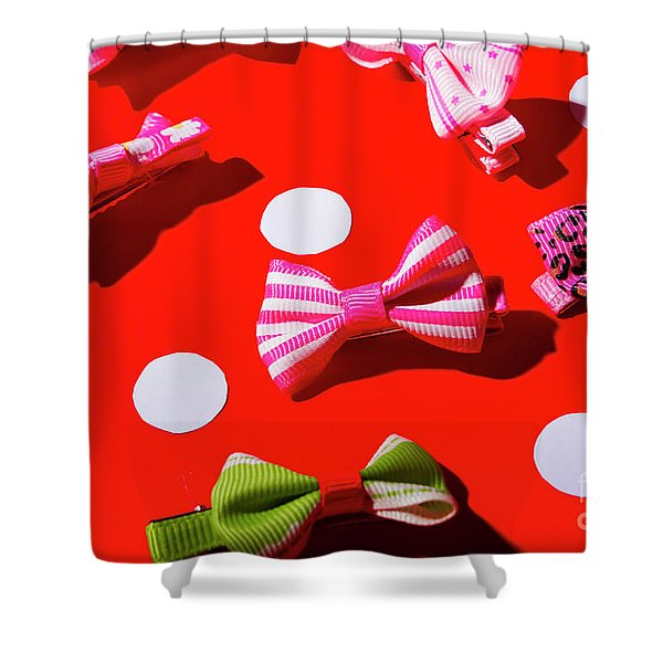 Ties To Fashion Shower Curtain
