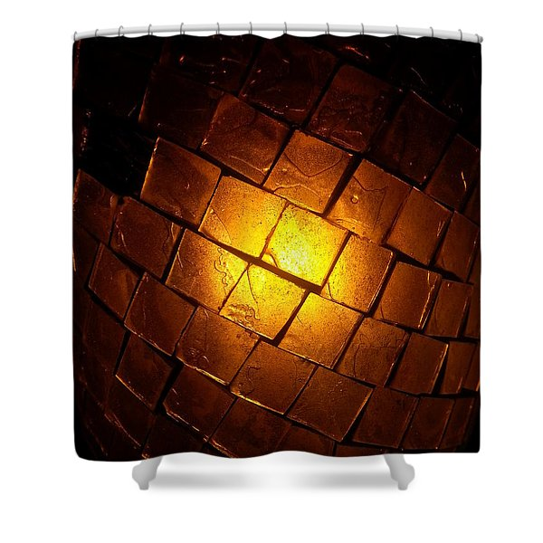 Tiffany Lamp Shower Curtain
