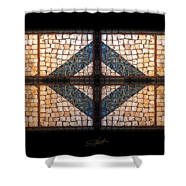 Tiffany Sidewalk Shower Curtain by Charles Stuart