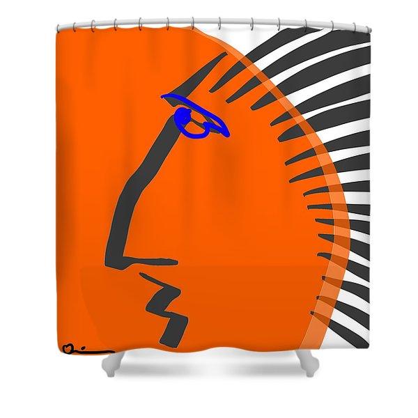 Tiger Man Shower Curtain