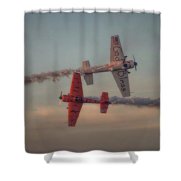 Tiger Yak 55 Shower Curtain