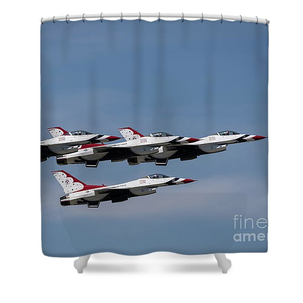 Shower Curtain featuring the photograph Tight Group by Andrea Silies