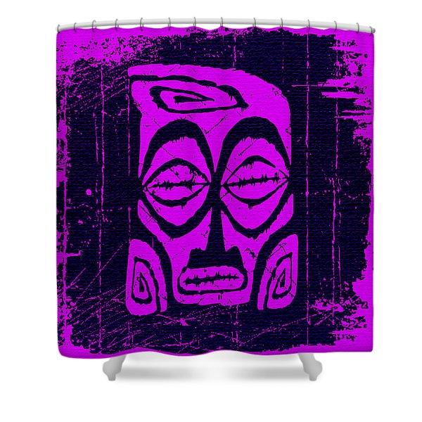 Tiki Taboo Shower Curtain
