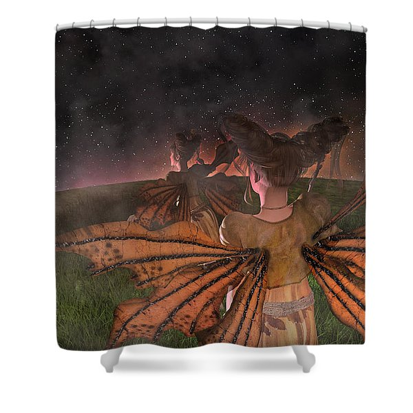 Till I See You Again  Shower Curtain