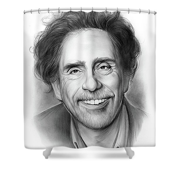 Tim Burton Shower Curtain