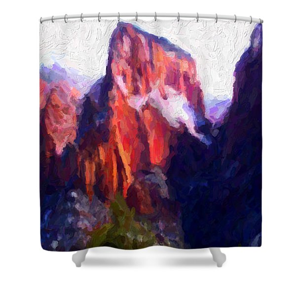 Timber Top Shower Curtain